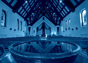 Church Empty - BLUE